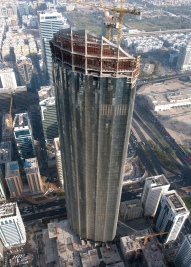 Trust-Tower-under-construction-Abu-Dhabi