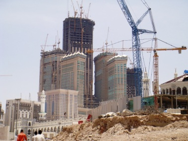 AbrajAlBaitTowersUnderConstructionIn2008