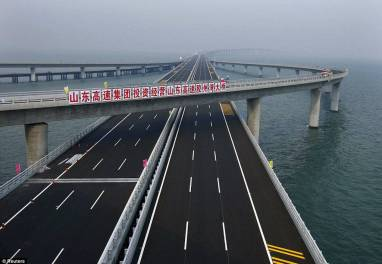 2 Danyang Kunshan Grand Bridge - World's Longest Bridge