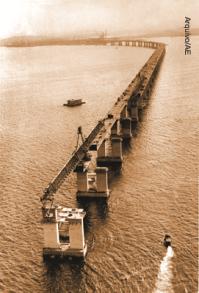 Construção da Ponte Rio-Niteroi